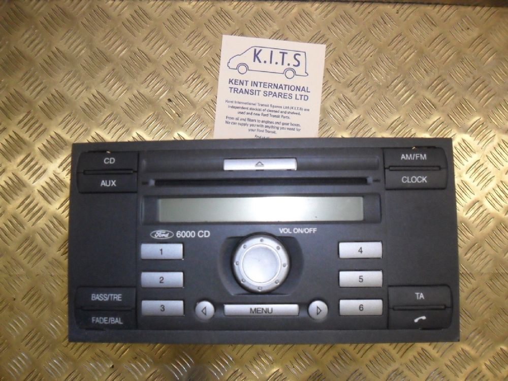 ford transit stereo cd player 6000cd mk 7. Black Bedroom Furniture Sets. Home Design Ideas